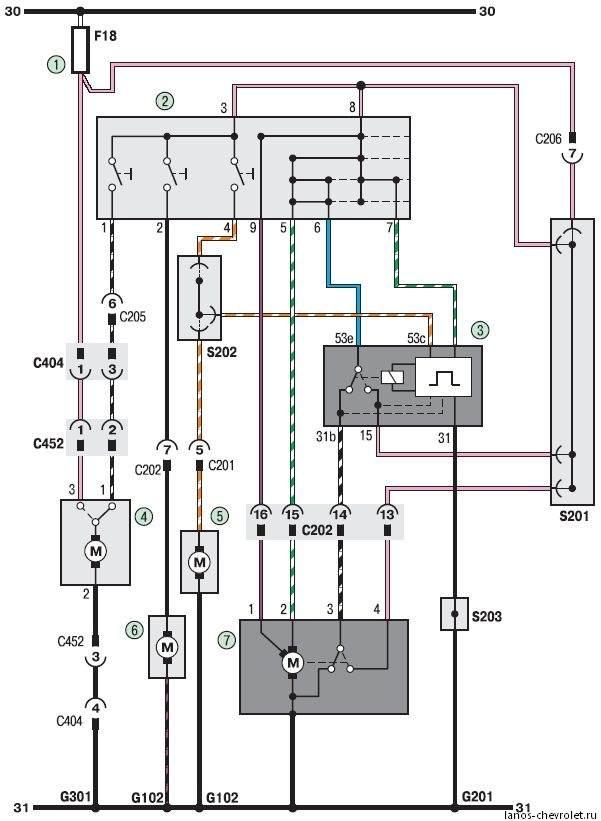 Электросхема 6.