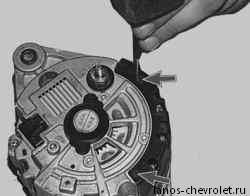 Ремонт генератора шевроле своими руками